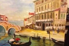 Dell'Ova Francesca - titolo opera: PRIMAVERA A VENEZIA